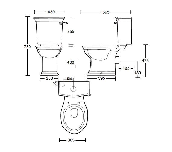 Technical drawing QS-V39222 / WM1WC01030