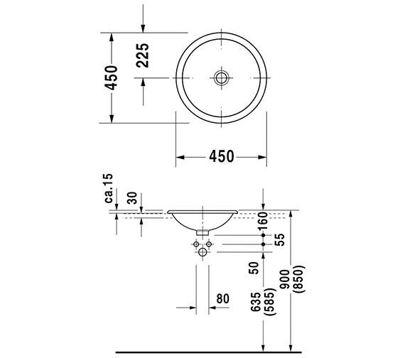 Technical drawing QS-V49378 / 0318450000