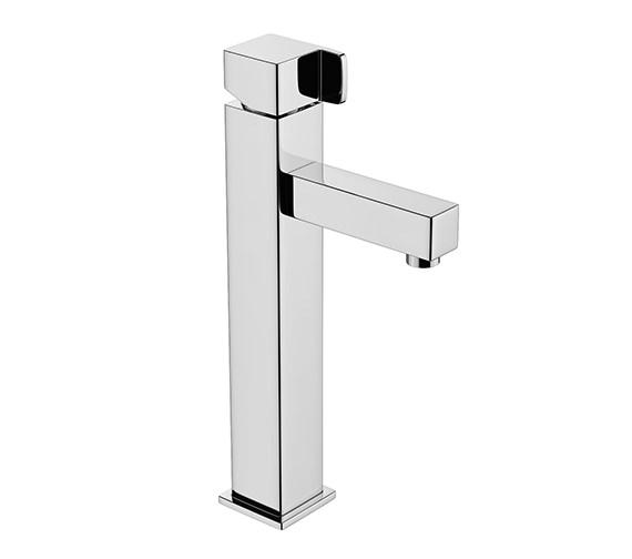 Abode Rapport Tall Monobloc Basin Mixer Tap Chrome -  AB1605