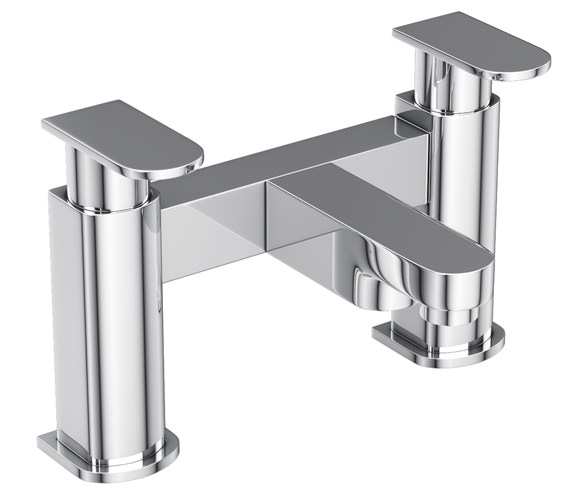 Abode Rapture Deck Mounted Bath Filler Tap - AB1012