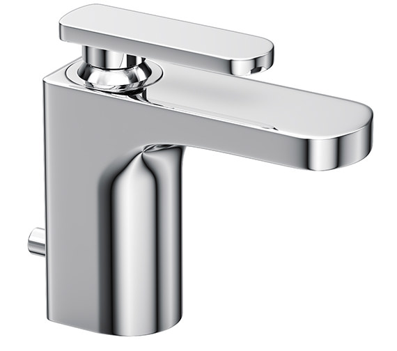 Abode Rapture Single Lever Basin Mixer Tap with Pop up waste - AB1002