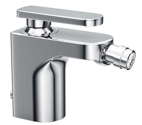 Abode Rapture Single Lever Bidet Mixer Tap With Pop-Up Waste - AB1003