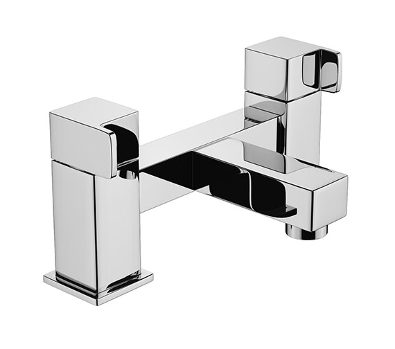 Abode Rapport Deck Mounted Bath Filler Tap Chrome - AB1607