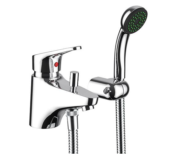 Abode Veracity Bath Filler Tap With Shower Handset And Diverter