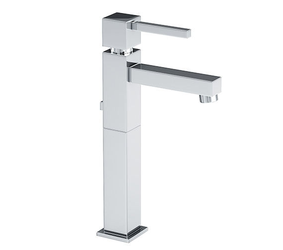 Abode Zeal Tall Single Lever Basin Mixer Tap With Pop-up Waste - AB1272