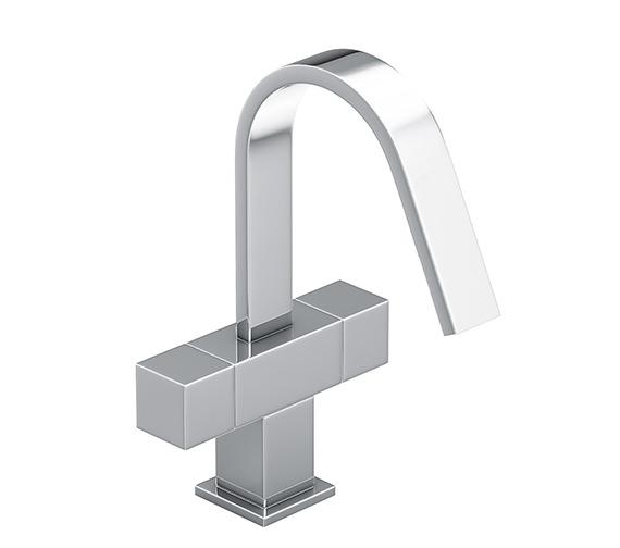 Abode Zeal Monobloc Chrome Basin Mixer Tap - AB1289