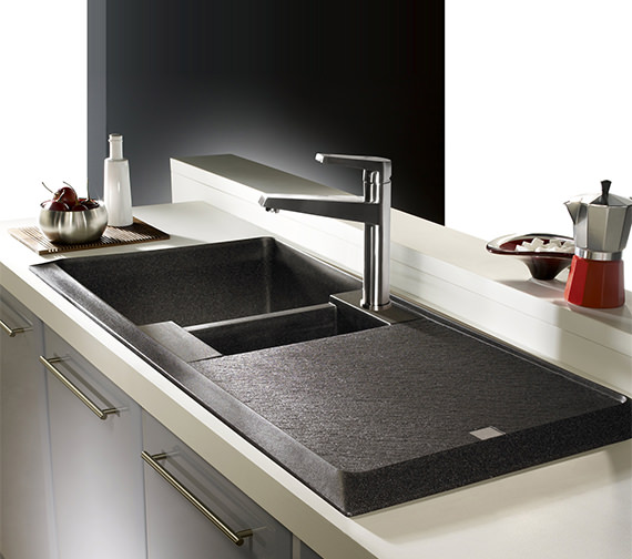 Additional image of Astracast Contour 1.5 Bowl Composite ROK TEX Inset Sink And Tap Pack