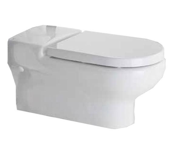 RAK Compact Extended Rimless Wall Hung WC Pan 700mm - COMRIMWHPAN