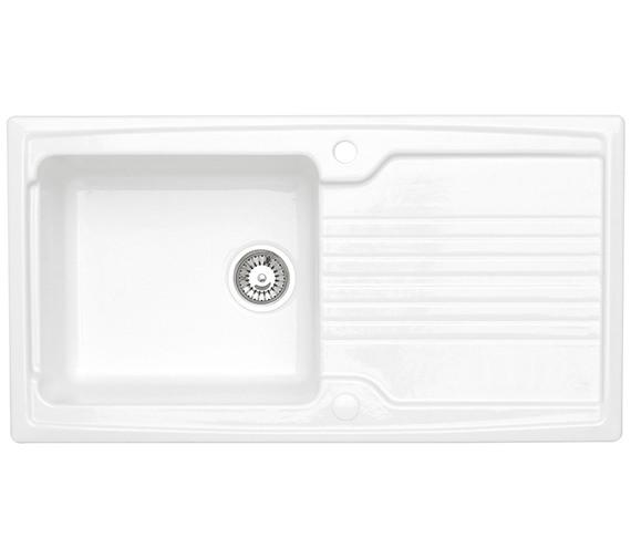 Astracast Equinox 1.0 Bowl Ceramic Inset Kitchen Sink