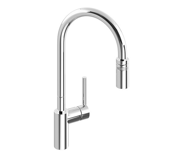Abode Ratio Single Lever Pull Out Kitchen Mixer Tap - AT1049