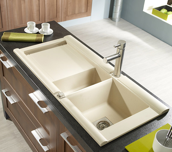 Additional image of Astracast Geo 1.5 Bowl Composite ROK Granite Inset Sink