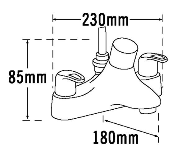 Technical drawing QS-V31406 / 25057