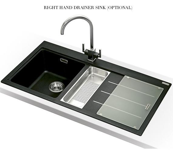 Image 7 of Franke Mythos Fusion Designer Pack MTF 651-100 Fragranite Onyx Sink And Tap
