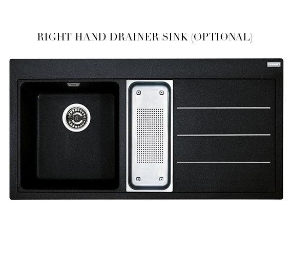 Image 8 of Franke Mythos Fusion Designer Pack MTF 651-100 Fragranite Onyx Sink And Tap