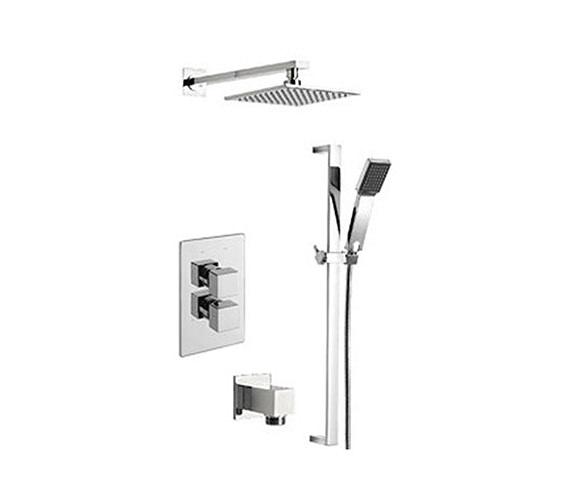 Tre Mercati Mr Darcy Thermostatic 2 Way Diverter Valve And Shower Set