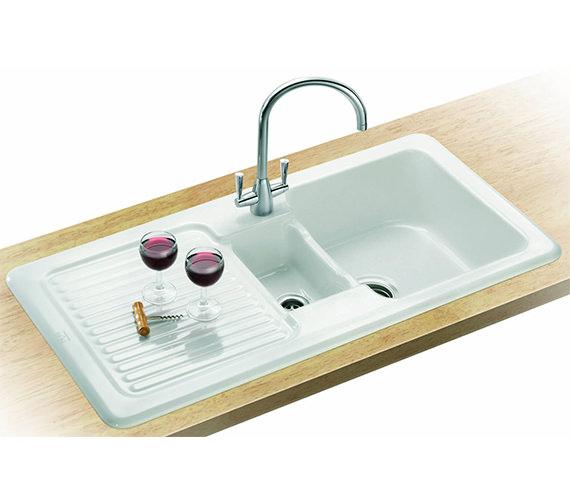franke v and b designer pack vbk 651 ceramic kitchen sink