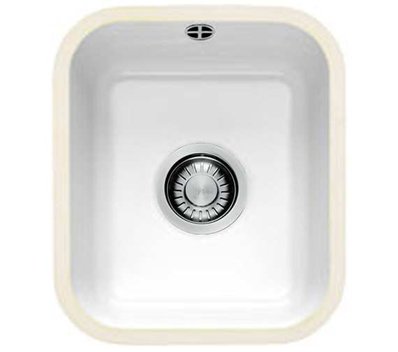 Franke V And B VBK 110 33 Ceramic 1.0 Bowl Undermount Kitchen Sink ...