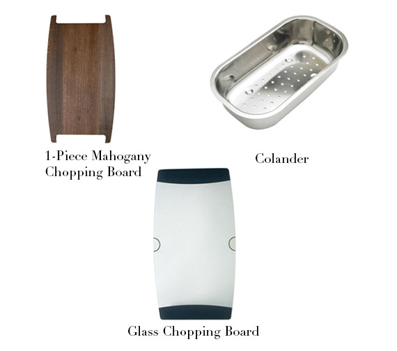 Alternate image of Astracast Korona 1.5 Bowl Composite ROK Metallic Inset Sink And Tap Pack