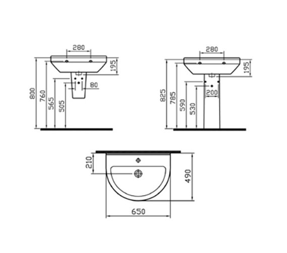 Technical drawing QS-V59687 / 5303L003-0999