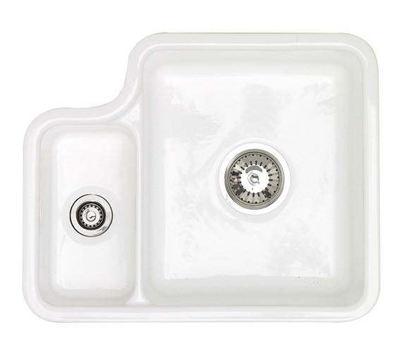 Astracast Lincoln 1.5 Bowl Ceramic Undermount Kitchen Sink