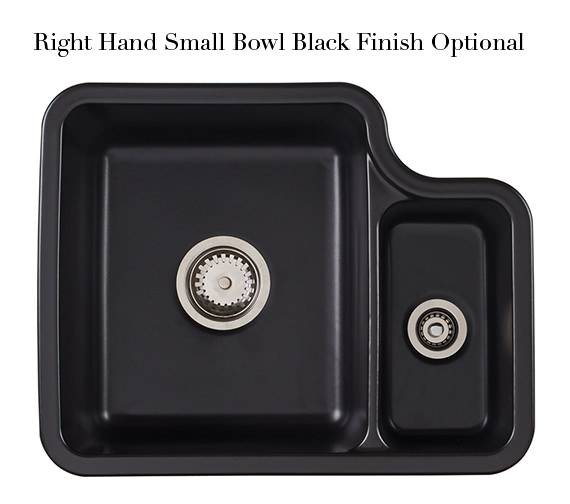 Additional image of Astracast Lincoln 1.5 Bowl Ceramic Undermount Kitchen Sink