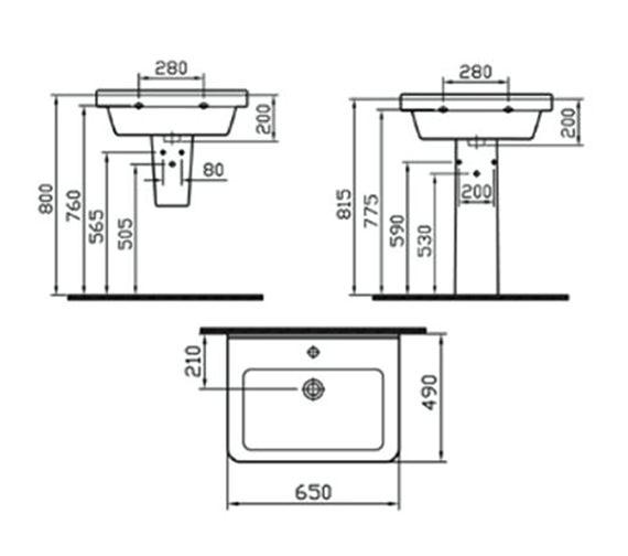 Technical drawing QS-V59694 / 5311L003-0999