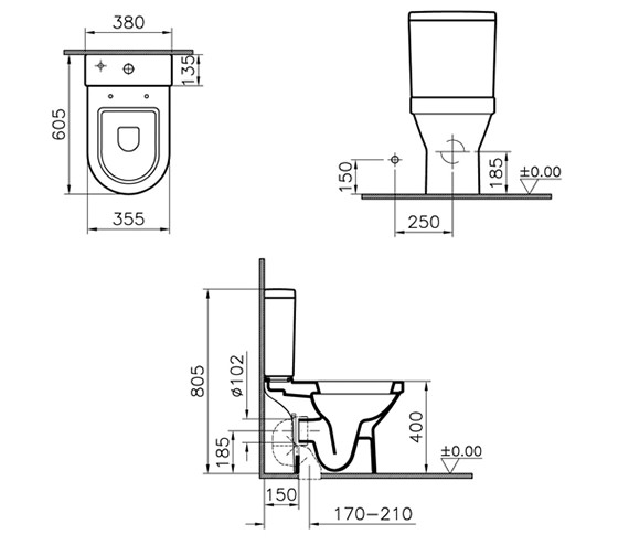 Technical drawing QS-V59704 / 5424L003-7200