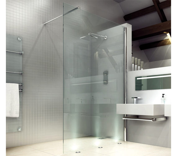 Merlyn 8 Series Wetroom Shower Panel 700mm