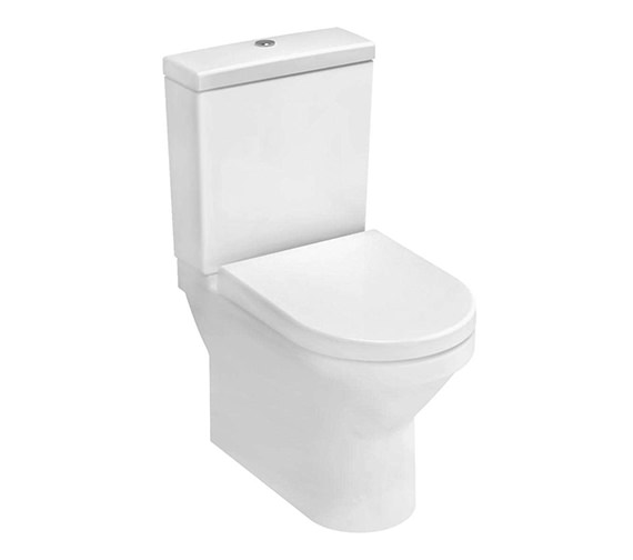 VitrA S50 Compact Close Coupled WC Pan With Cistern