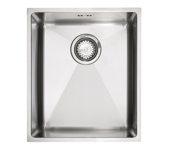 Astracast Onyx 4034 Medium Bowl Brushed Stainless Steel Flush Inset Sink