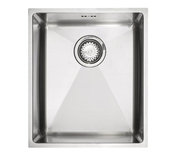 Astracast Onyx 4034 Medium Bowl Brushed Stainless Steel Flush Inset Sink