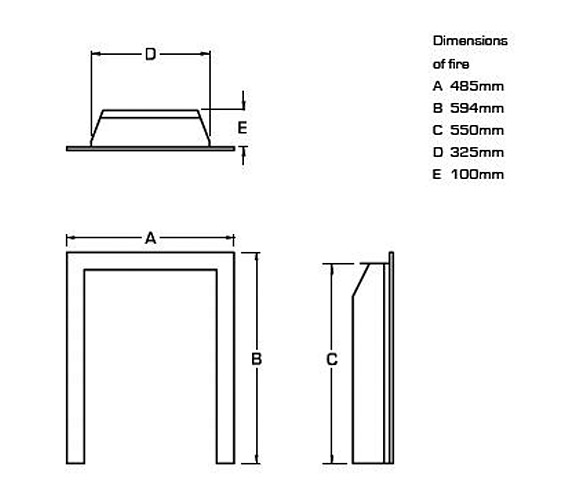 Technical drawing QS-V24019 / FVNC26MN