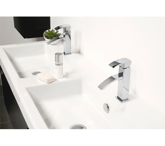 Additional image of Miller Flat Waterfall Basin Mixer Tap - 1931C