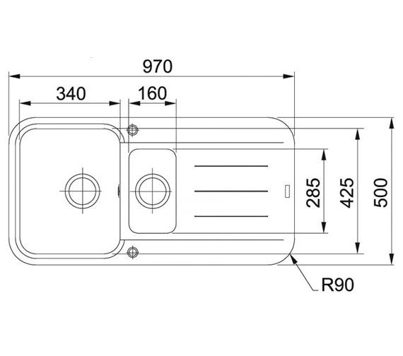 Technical drawing QS-V38817 / 1140251261