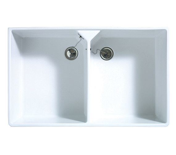 Astracast Sudbury 2.0 Bowl Ceramic Gloss White Sit-In Kitchen Sink