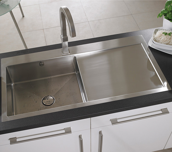 Additional image of Astracast Vantage 1.0 Bowl Stainless Steel Inset Sink And Accessory
