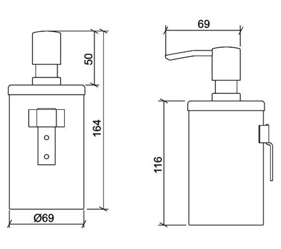 Technical drawing QS-V59801 / A44370EXP