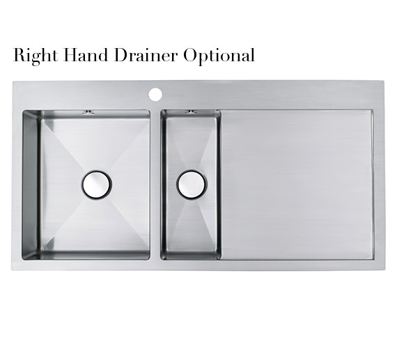 Additional image of Astracast Vantage 1.5 Bowl Brushed Stainless Steel Inset Sink And Tap Pack