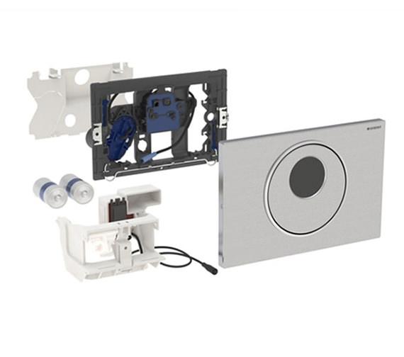 geberit sigma10 battery operated flush plate for up320. Black Bedroom Furniture Sets. Home Design Ideas