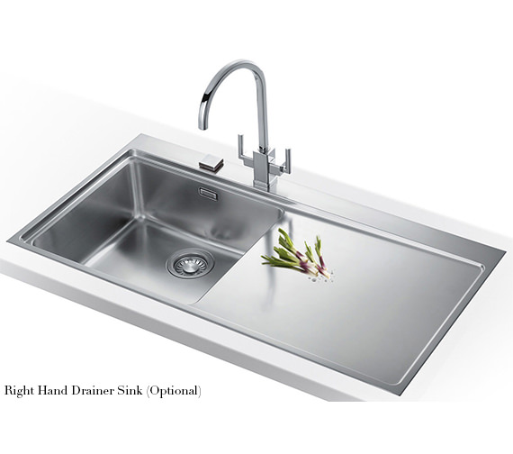 Image 7 of Franke Mythos Slim-Top DP MMX 211 Stainless Steel Kitchen Sink And Tap