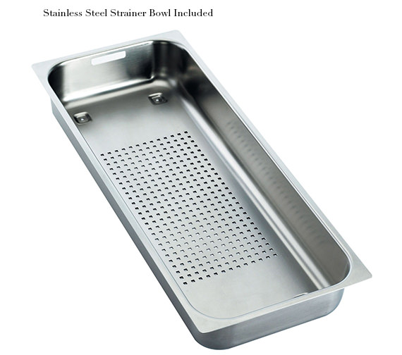 Additional image of Franke Mythos MTG 611 Fragranite Onyx 1.0 Bowl Inset Kitchen Sink