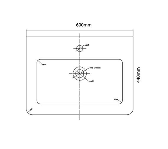 Technical drawing QS-V29953 / QU004