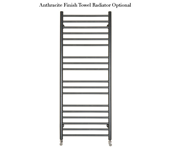 Additional image of SBH Maxi Flat Towel Radiator 520mm x 1300mm