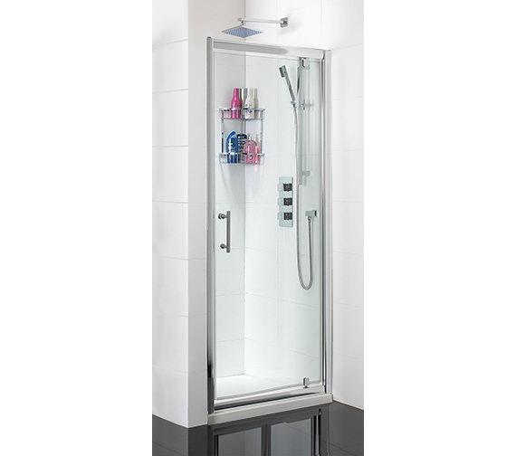 Phoenix Pivot Shower Door 800mm x 1850mm - SE001