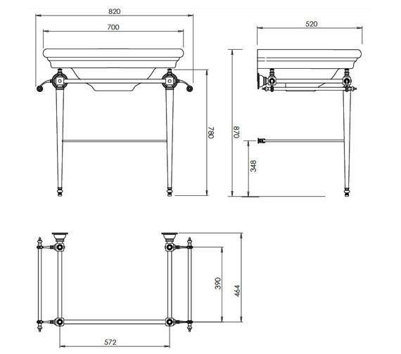 Technical drawing QS-V40583 / ET1LB11030