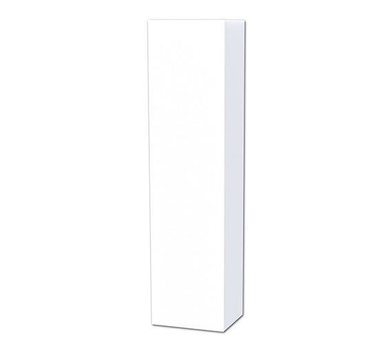 Miller New York White 400 x 1690mm Tall Cabinet With Door Storage