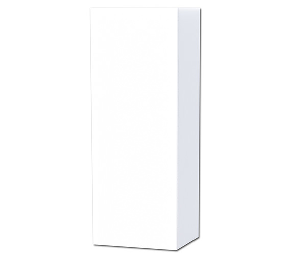 Miller New York White Single Door Storage Cabinet 400 x 1111mm