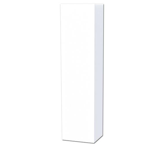 Miller New York White Single Door Tall Cabinet 400 x 1690mm