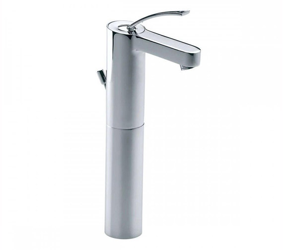 Roca Moai Extended Basin Mixer Tap With Pop-Up Waste - 5A3446C00