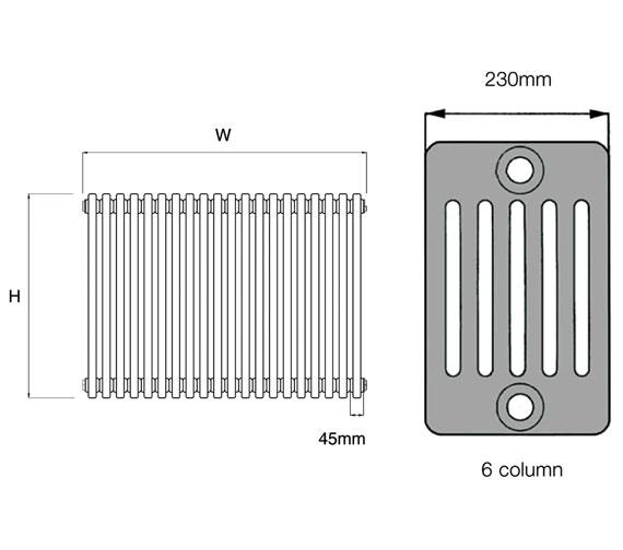 Technical drawing QS-V50250 / 6.300/3